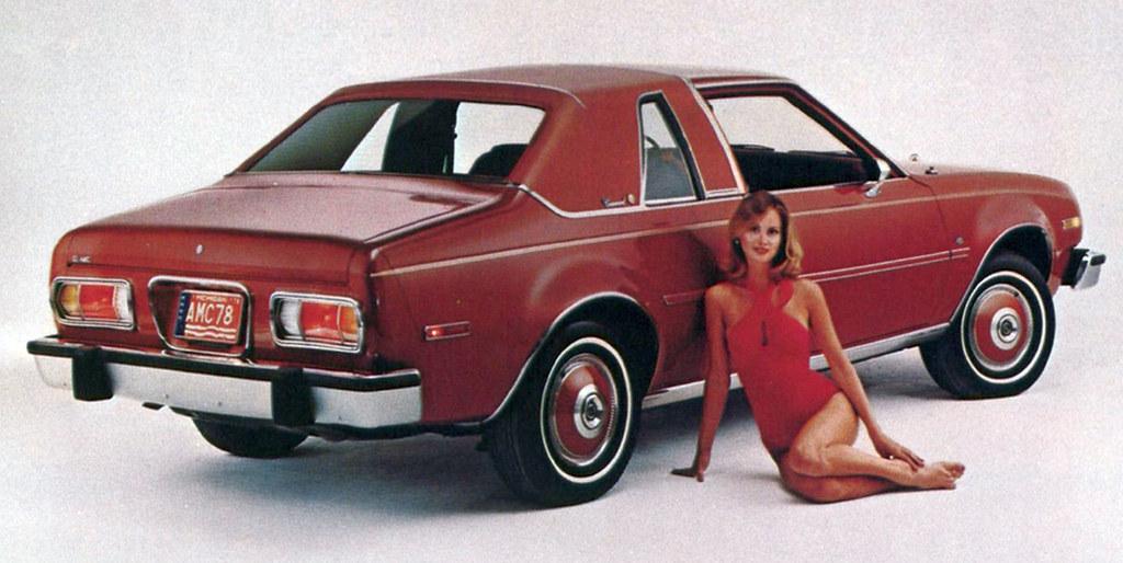1978 AMC Concord D/L 2-door sedan, August 1977 American Motors press photo