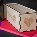 Customized Event Presentation Wood White Wine Gift Boxes