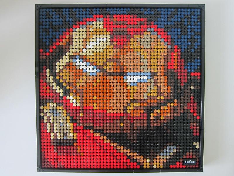 LEGO Art Marvel Studios Iron Man 31199 - Iron Man HulkBuster Mark I - Border