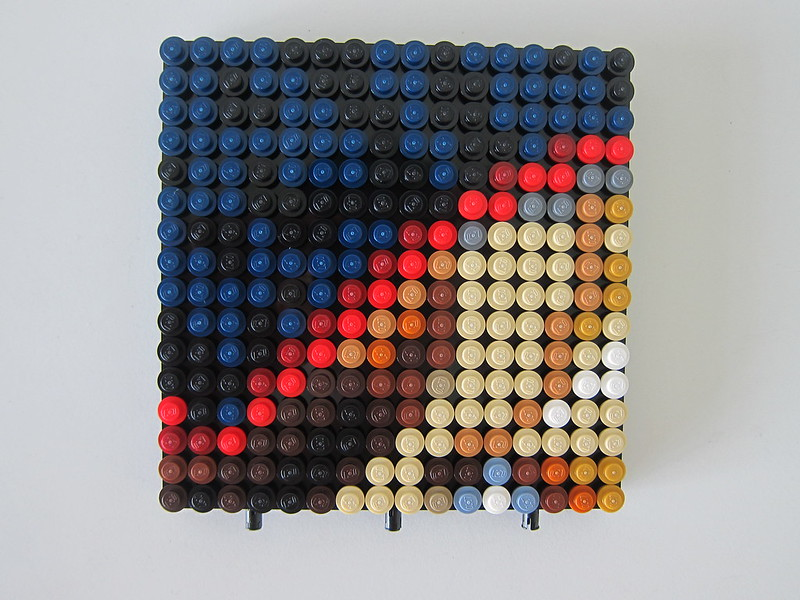 LEGO Art Marvel Studios Iron Man 31199 - Iron Man HulkBuster Mark I - First Frame