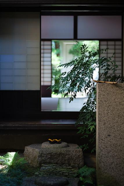 At an old house in Nara, Japan