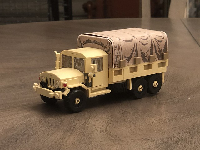Jeep M35 Deuce and a half 6x6 Supply Truck
