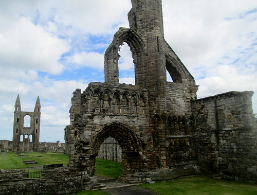 St Andrews Cathedra, Fife, Scotland