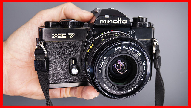YouTube: Minolta XD7 (Cheap Leica R4 Alternative)