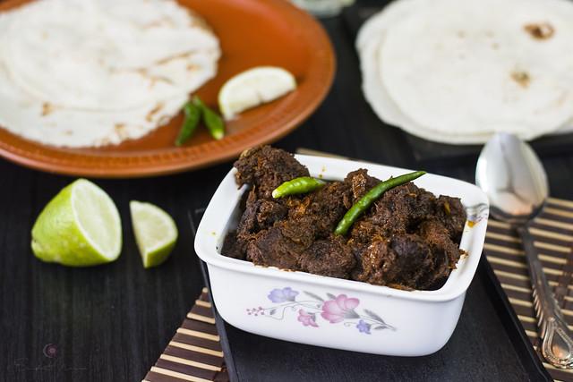 Beef Kala Bhuna, Bangladeshi Traditional Curry
