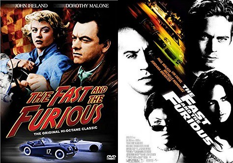 Movies w/the same title: The Fast and the Furious