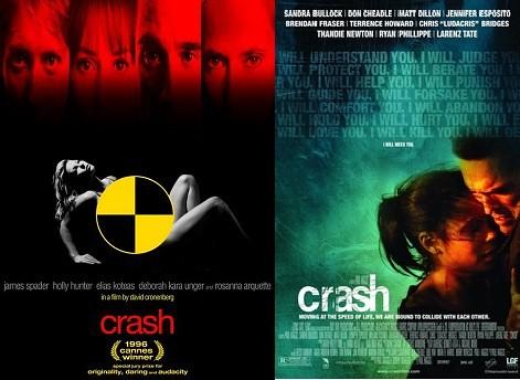 Movies w/the same title: Crash