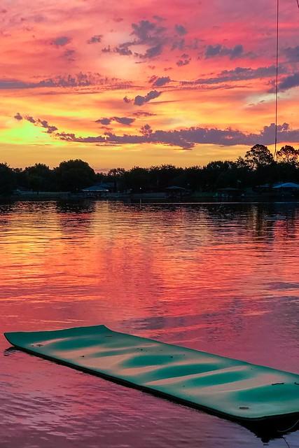 Sunrise, Lake Granbury, Texas