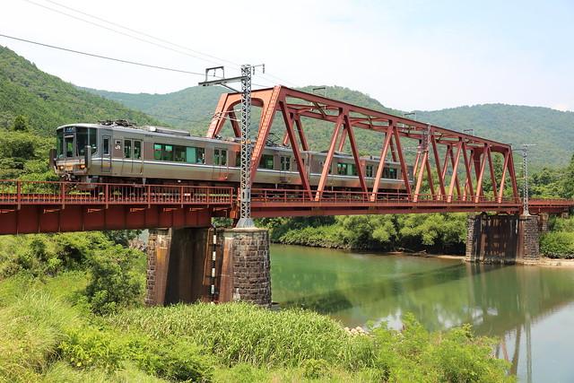 Regional rail in North Kyoto