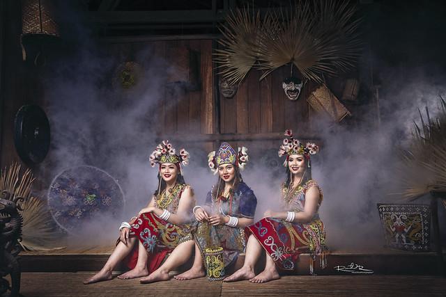 Sarawak Beauty Ethnics - Orang Ulu Series