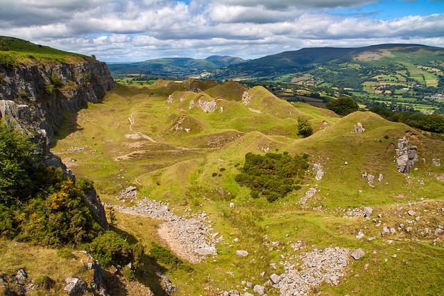 The Llangattock Escarpment