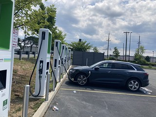 Electrify America Etron Plugged In | by ken fields