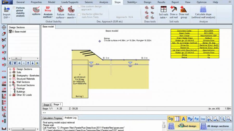 Working with Deep Excavation SnailPlus 2012 v3.1.5.5 full