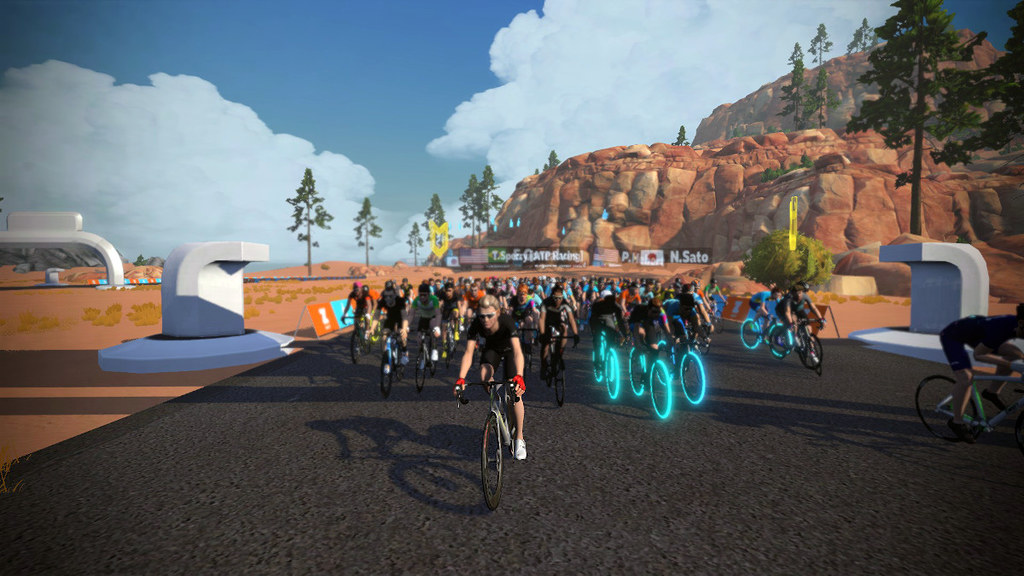 PMC Day 1: Leading out the first ever Zwift PMC celebration ride!