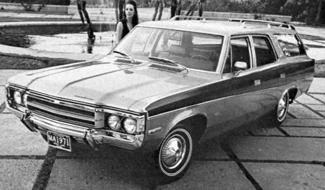 1971 AMC Matador Wagon, August 1970 American Motors press photo
