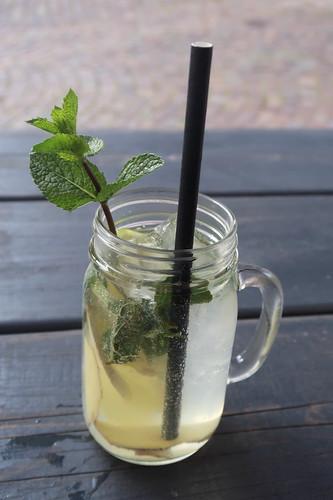 Hausgemachte Ingwer-Limetten-Limonade