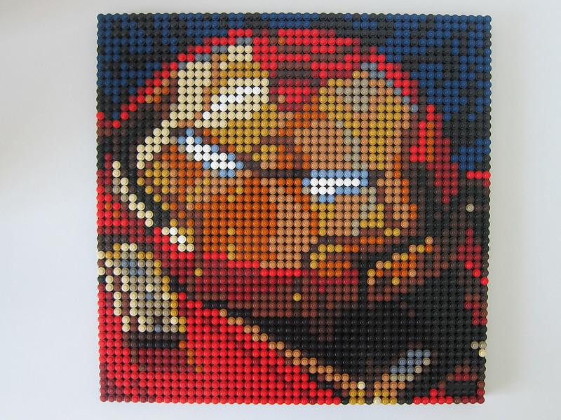 LEGO Art Marvel Studios Iron Man 31199 - Iron Man HulkBuster Mark I - Frames Joined