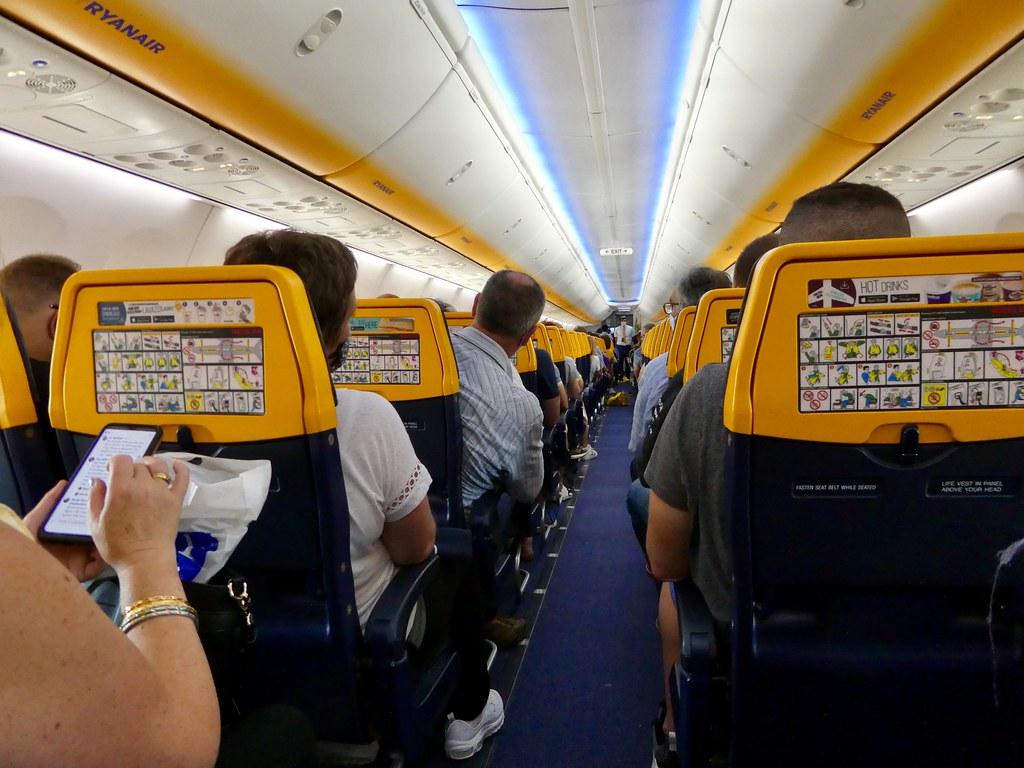 On board Ryanair