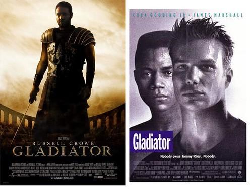 Movies w/the same title: Gladiator
