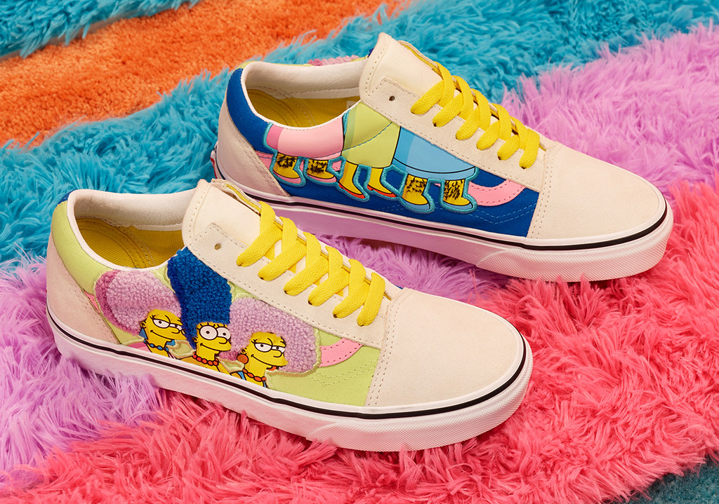 滿滿的《辛普森家庭》元素注入!【Vans × The Simpsons】系列將於本週五(8/7)在台正式開賣~