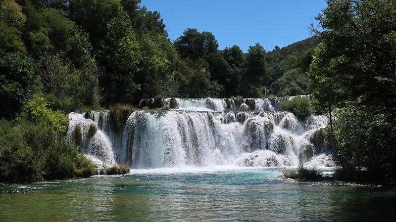 Krka National Park, CROATIA, July 2020