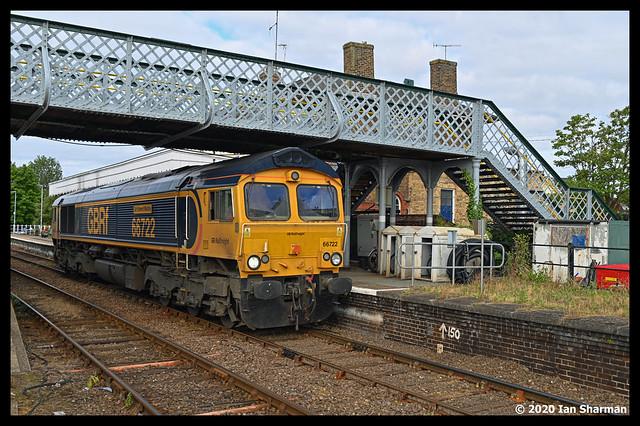 No 66722 Sir Edward Watkin 29th July 2020 Woodbridge