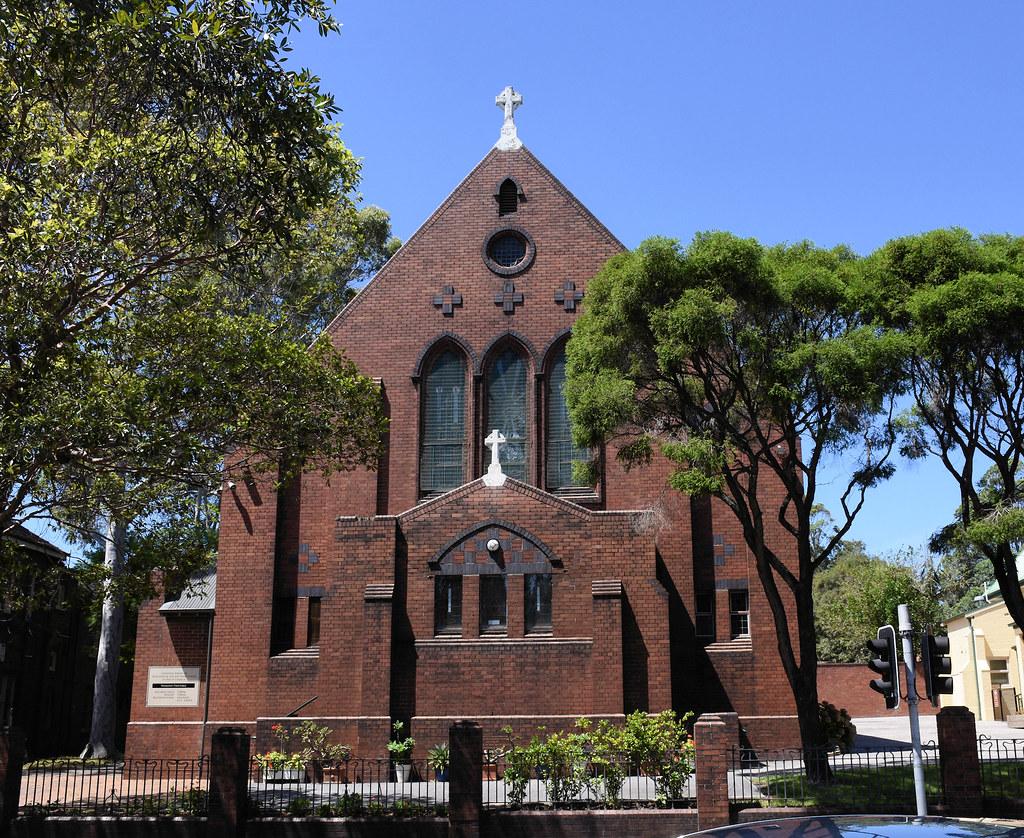 St Pius Catholic Church, Newtown, Sydney, NSW.