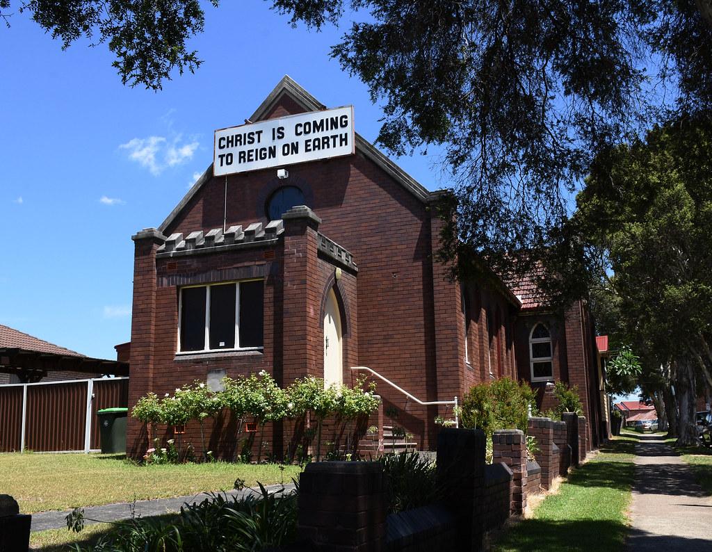 Christadelphians Church, Campsie, Sydney, NSW.