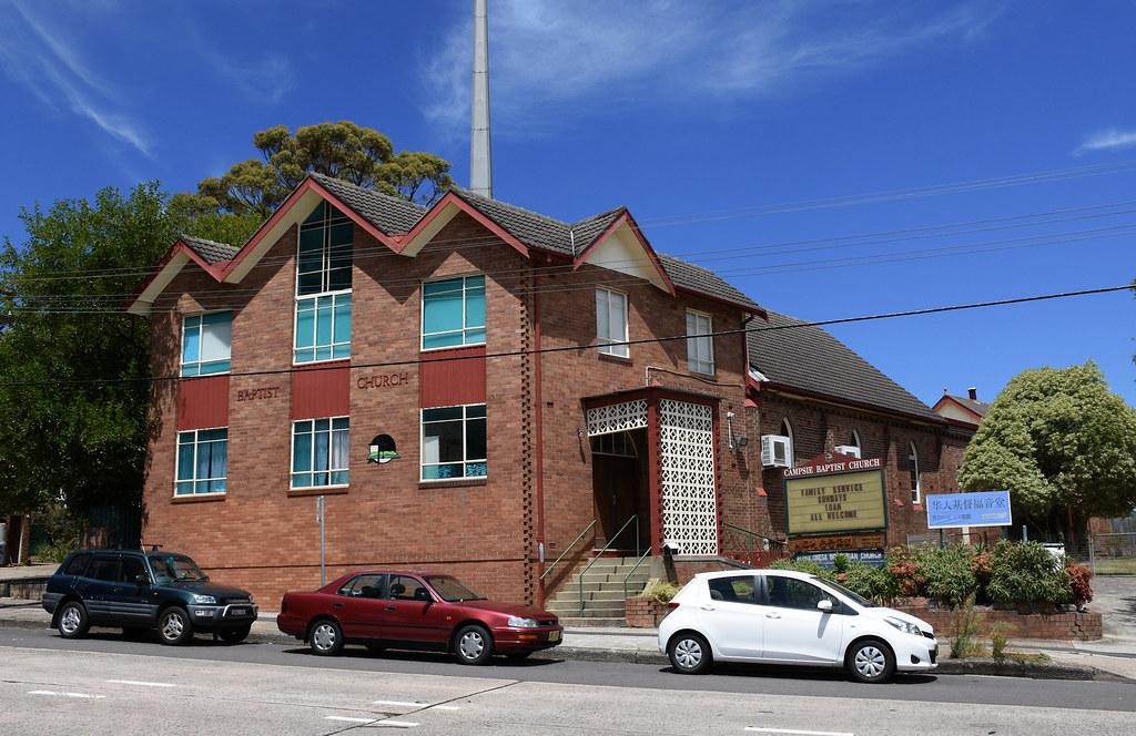 Baptist Church, Campsie, Sydney, NSW.