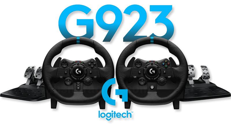 Logitech g923