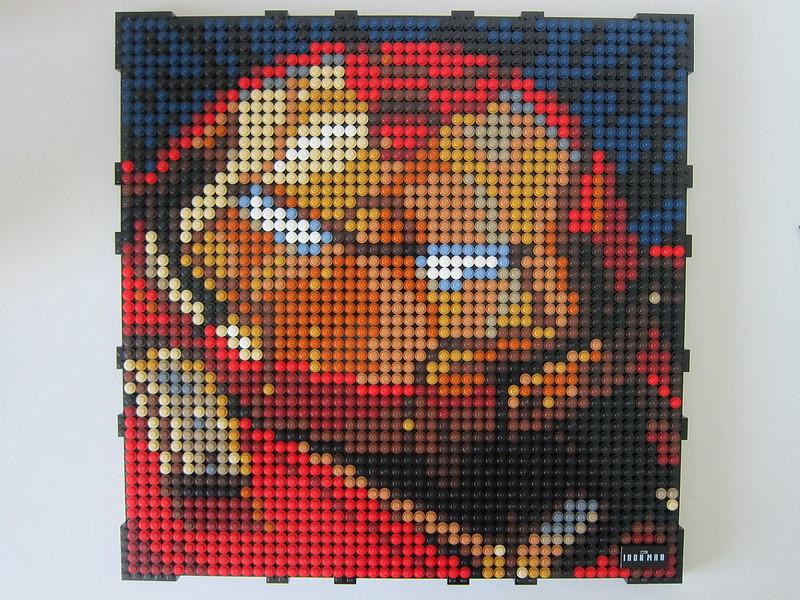 LEGO Art Marvel Studios Iron Man 31199 - Iron Man HulkBuster Mark I - Frame Border