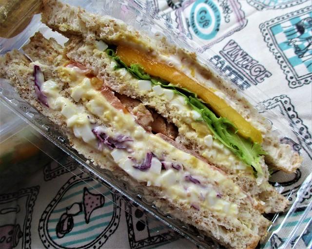 Mango chicken sandwich