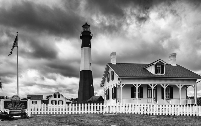 Georgia -  Tybee Island Lighthouse Station(Mono)