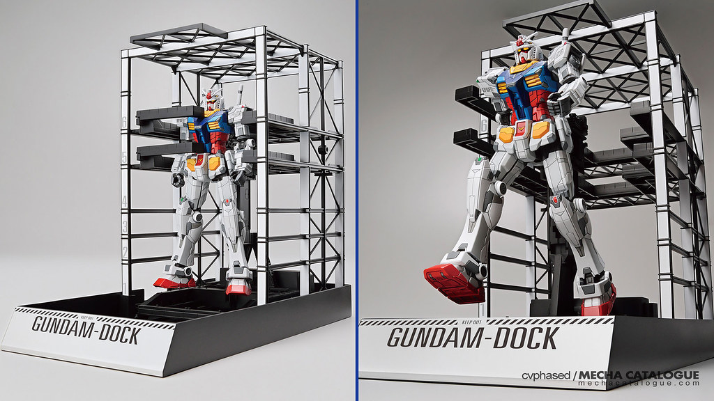Yes, Another One: 1/144 RX-78F00 Gundan & G-Dock