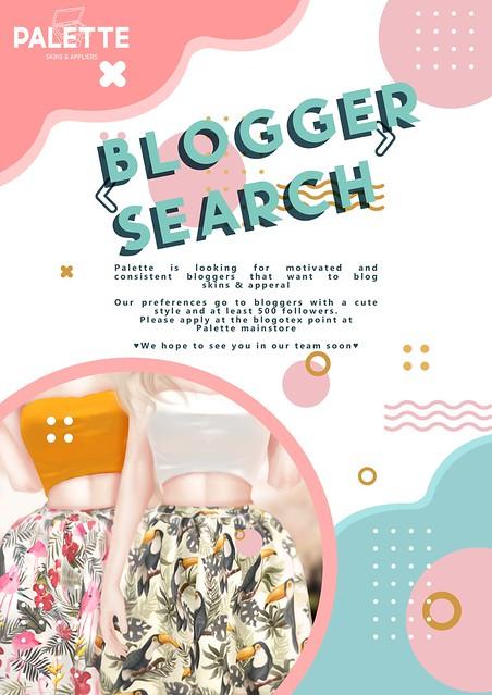 Palette - Bloggers search