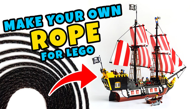 Make your own rope for Lego
