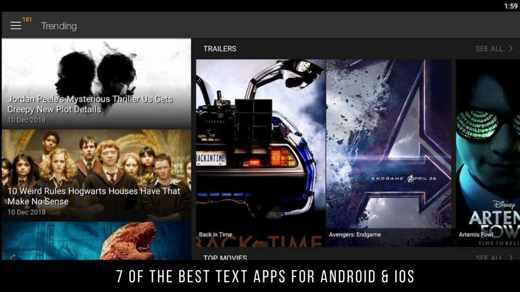 7 Of The Best Text Apps For Android & iOS
