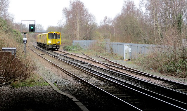 Merseyrail meets Noth Mersey Branch at Aintree