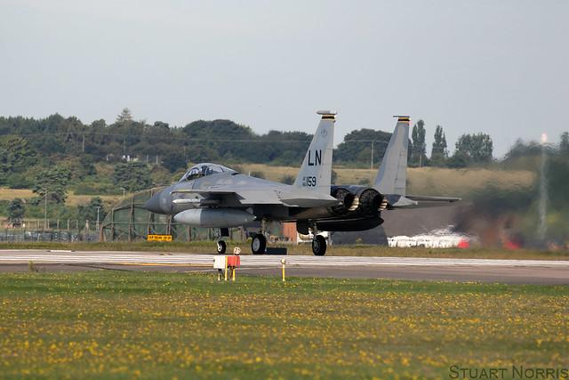 F-15C Eagle 86-0159 - 493rd Fighter Squadron - RAF Lakenheath