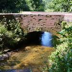 A stream bridged