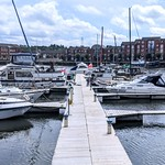 Boats at Preston Marina