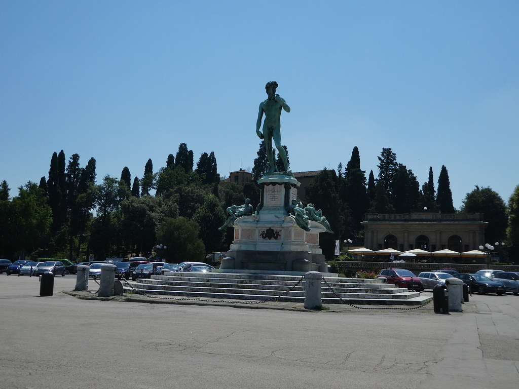 Statue of David, Piazzale Michelangelo