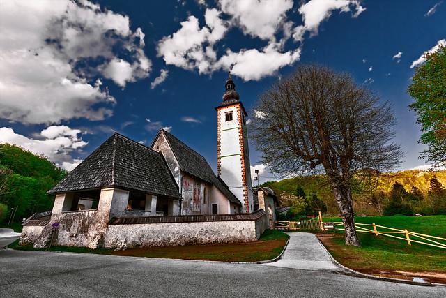Bohinj Lake - Church of St. John the Baptist