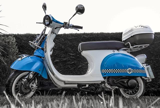 AJS Modena 125cc.