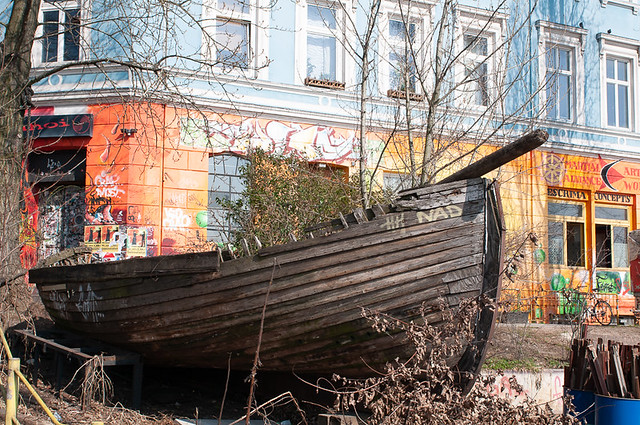 Altes Holzboot...