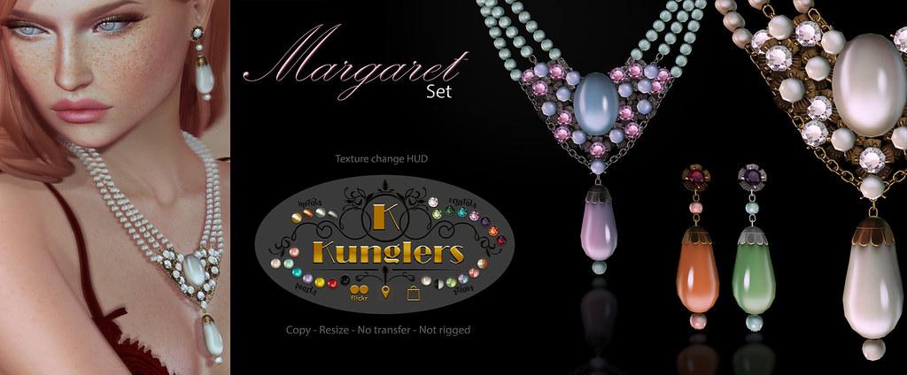 KUNGLERS – Margareth set