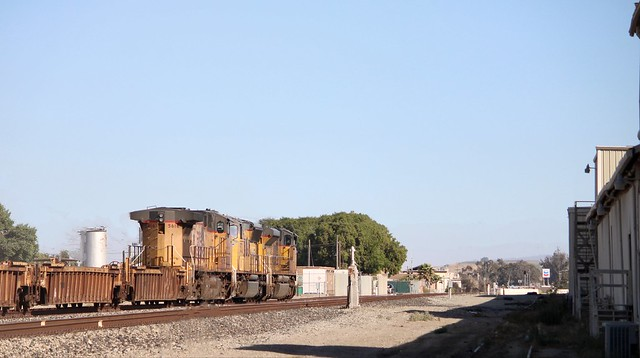 the solemn used coast sub got a freight train??? yes it did!- king city ca
