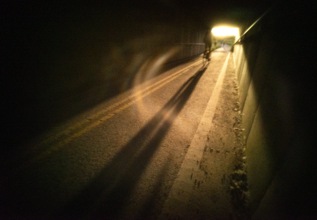 Bike Tunnel Shadow