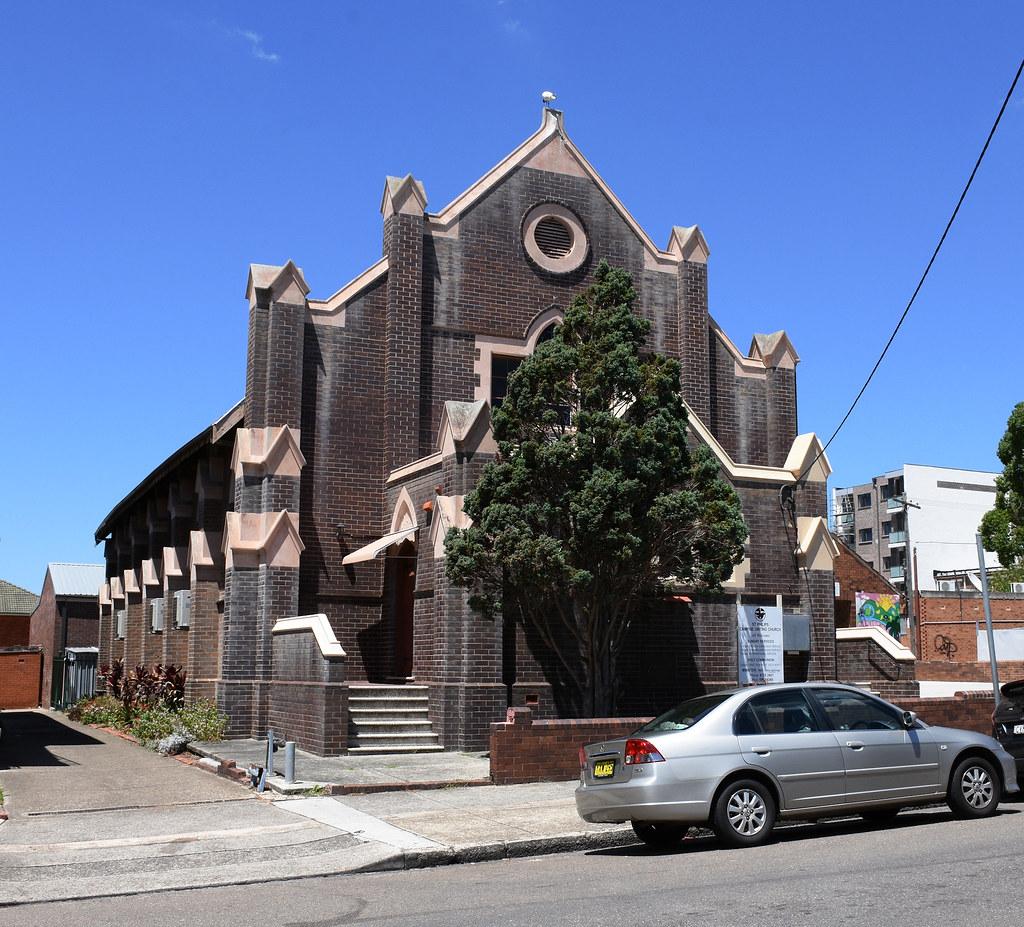 St Philips Uniting Church, Campsie, Sydney, NSW.