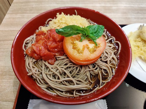 Cold Tomato Soba from Tokyo Soba in Singapore